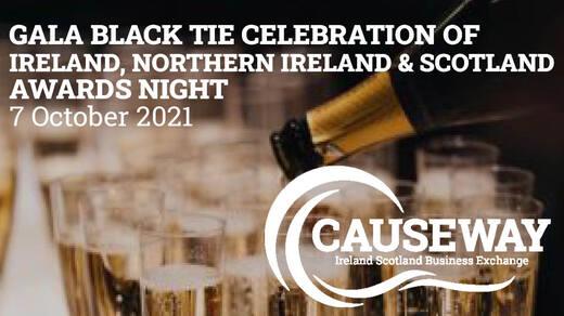 Gala Black Tie Celebration of Ireland, Northern Ireland & Scotland Awards Night