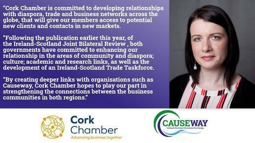 Causeway and Cork Chamber Grow Connections with New Partnership
