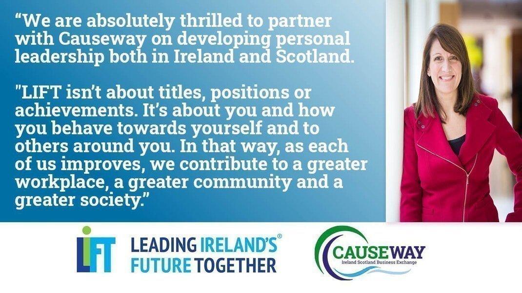 Leadership Links - Causeway Announces Partnership with LIFT Ireland