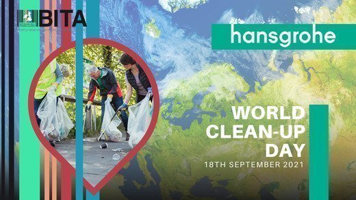 Cleaning up the World!  BITA joins the World Cleanup Day on 18th September 2021, supported by hansgrohe