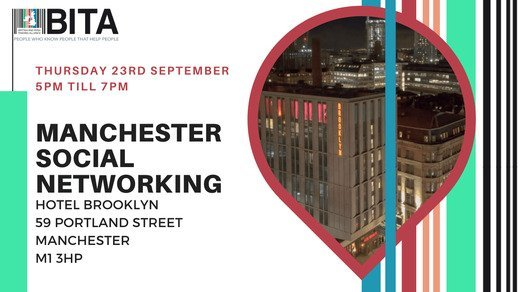 Manchester Chapter - Social Network at Hotel Brooklyn