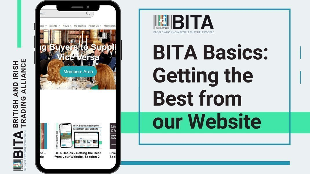 BITA Basics - Getting the Best from our Website