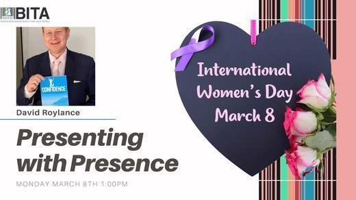 Presenting with Presence - Celebrating Women Leaders with David Roylance