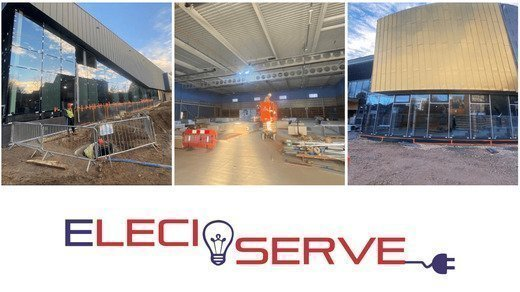 Eleciserve and the New Places Leisure Camberley Centre Project