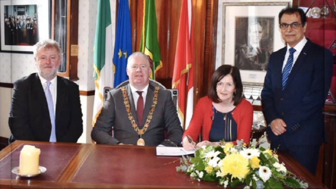 B.I.T.A. BOARD MEMBER WELCOMED BY LORD MAYOR OF CORK
