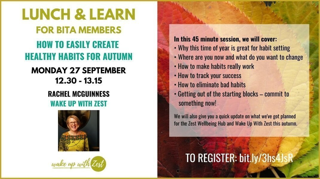 How to easily create healthy habits for autumn