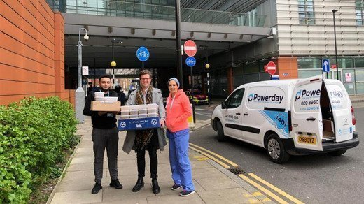 Powerday and London Irish Provide Incredible Support to the NHS