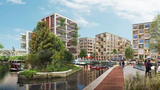 The Brentford Project; green chapter regeneration project for Ballymore
