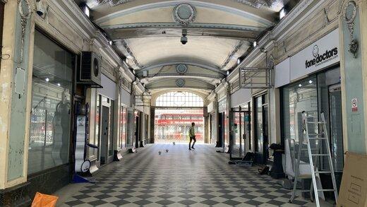 Work in progress at Victoria Station