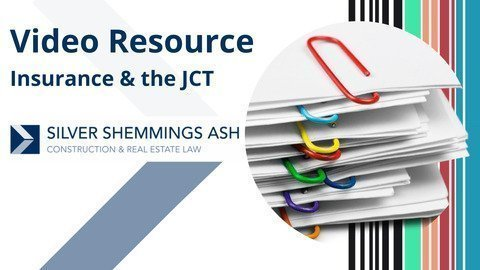 Insurance and the JCT - Silver Shemmings Ash